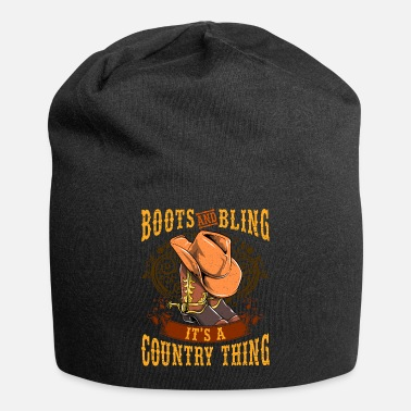 Country Boots Bling Country Thing - Beanie