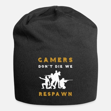 Strike gamers dont die we respawn - Beanie