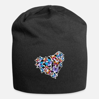 Caterpillar Butterfly heart - Beanie