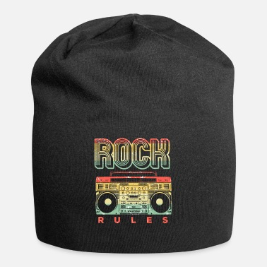 Bandera Vintage Rock n Roll Rock Music Concert Band Retro - Beanie