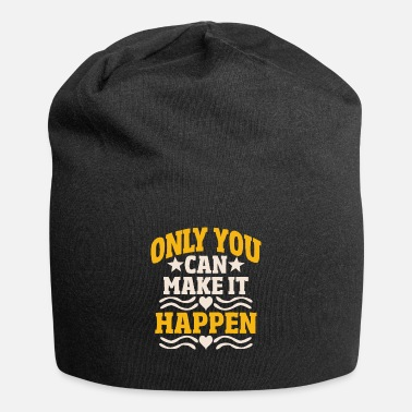 Monday Motivation Inspiration Great Sayings Gift Idea - Beanie