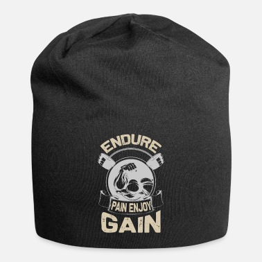 Lifting Endure pain enjoy gain - Beanie