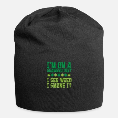Oil Weed Hemp Lover Cannabis Smoker Gift - Beanie