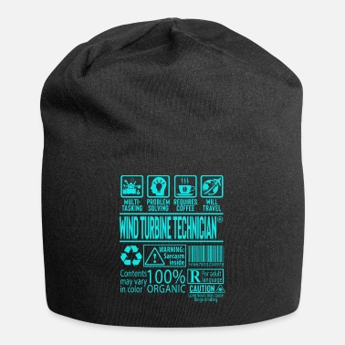 Husband Wind Turbine Technician Gift - Beanie