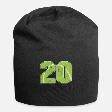 Birth Tennis Ball 20 th Birthday Celebration Sports Gift - Beanie