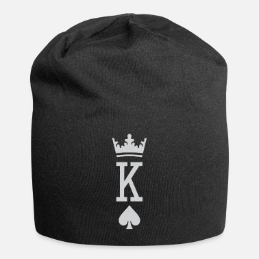 Jack The king of spades novelty poker player gift - Beanie