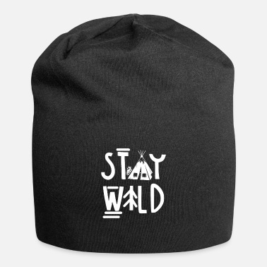 I Love Hiking Trails Gift I Stay Wild Hike Hiker - Beanie