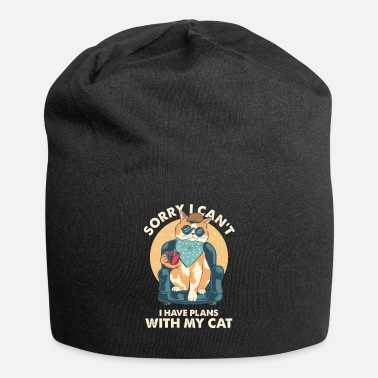 Occasion Sorry I Cant I Have Plan With My Cat Owner Gift - Beanie