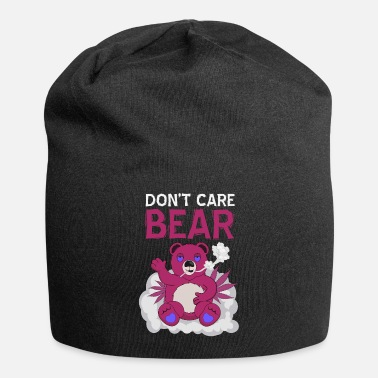 Stoner Don't Care Bear Weed Dope Funny - Beanie