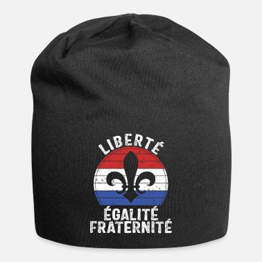 Fraternity Liberty Equality Fraternity Vintage Fleur De Lis - Beanie