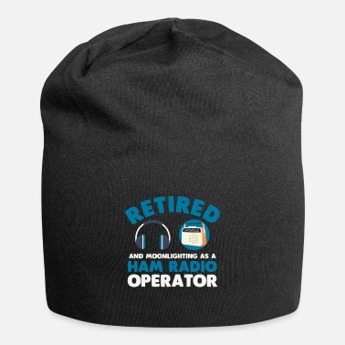 Radio Retired Ham Radio Operator Retirement Radio Tower - Beanie