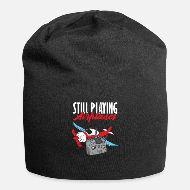 Plane RC Airplane Pilot Flying Airline Gift - Beanie