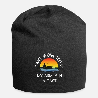 Funny Fisherman Quote Fishing Graphic Design - Beanie
