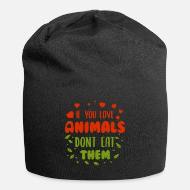 Fruit If you love animal dont eat them - Beanie