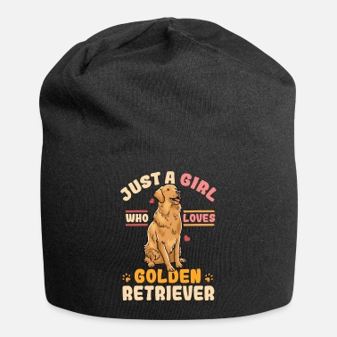 Golden Retriever Just A Girl Who Loves Golden Retriever Funny Dog - Beanie