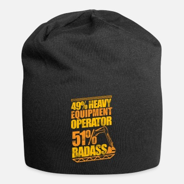 Gas Badass Heavy Equipment Operator Construction - Beanie