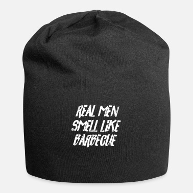 Meat BBQ Lover Real Men Smell Like Barbecue Funny Gift - Beanie