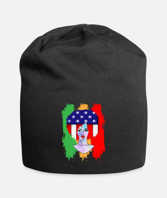 Black History Caps & Hats - Juneteenth Afro Culture Black African American - Beanie black