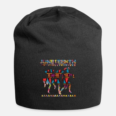 Quote Juneteenth Ancestor Black African American Flag - Beanie