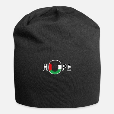 Occupation Hope For Freedom Of Palestine - Palestinian Flag - Beanie