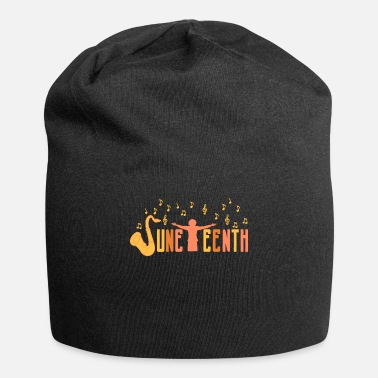 Black Juneteenth Celebrate Black African American Flag - Beanie