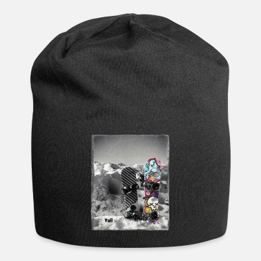 Ski Resort Vail Colorado Snowboard Colorado Snowboarding Fan - Beanie