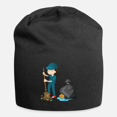 Cleaning Lady Man Clean Street Sweeper Gift - Beanie