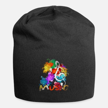 Playing Treble Clef Music Musician - Beanie