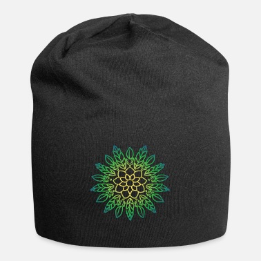 Graffiti Mandala art drawing for gift - Beanie