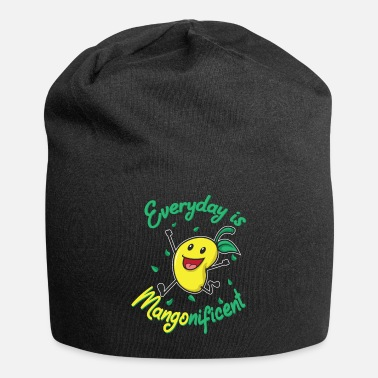 Moon Mangonificent Food And Mango Lover Gift - Beanie
