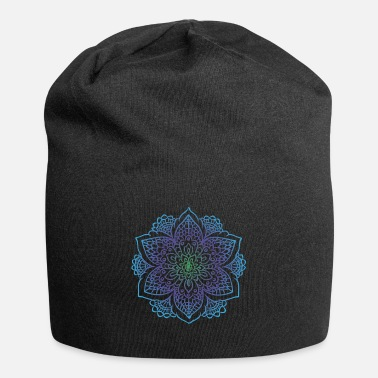 Drawing Mandala art drawing for gift - Beanie