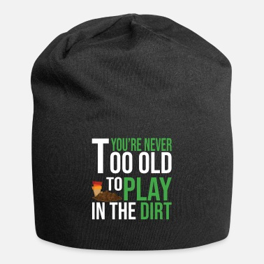 Meadow Old People Gardening Gift I Home Garden Gardener - Beanie