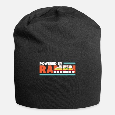 Poor Powered By Ramen I Asian Noodle Soup Food - Beanie