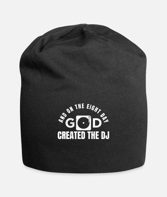 Turn Table Caps & Hats - DJ - Beanie black
