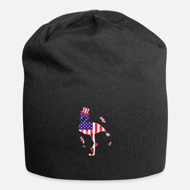 4 Th July 4 Th of July Flamingo - Beanie