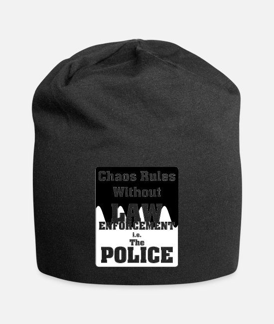 Order Caps & Hats - Chaos Rules Wthout Law - Beanie black
