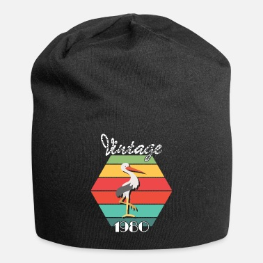 Nature Collection Vintage Retro Bird 1980 - Beanie