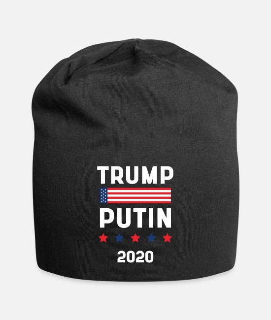 Donald Trump Funny Caps & Hats - Donald Trump President 2020 - USA Flag Gift - Beanie black