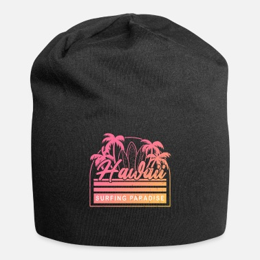 Life Flower Hawaii Surfing Paradise - Beanie
