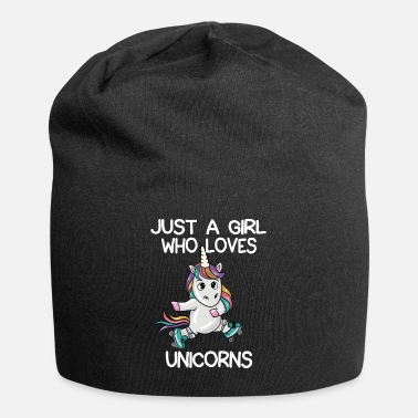 Just A Girl Who Loves Unicorns - Beanie