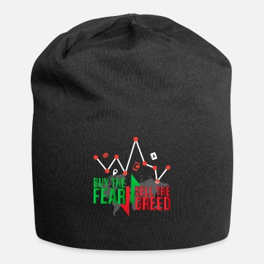Horny Buy the fear sell the greed - Trader - Beanie