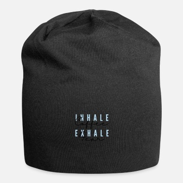Exercise Inhale Coffee, Exhale Fear - Beanie