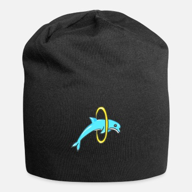 Thailand cute dolphin design whale fish animal welfare dolp - Beanie