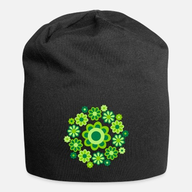 Cheerful Madness Floral Mandala by Cheerful Madness!! - Beanie