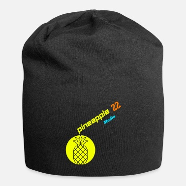 Pineapple And Soccer Pineapple 22 - Beanie