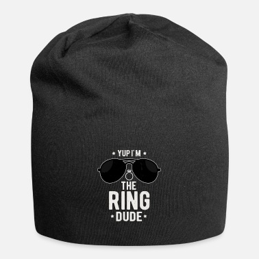 Hes My Weirdo I'm The Ring Dude Funny Ring Bearer Wedding - Beanie