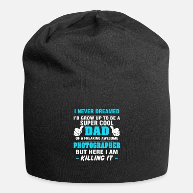 Photographer Dad T-shirt Gift Ideas Fathers Day - Beanie