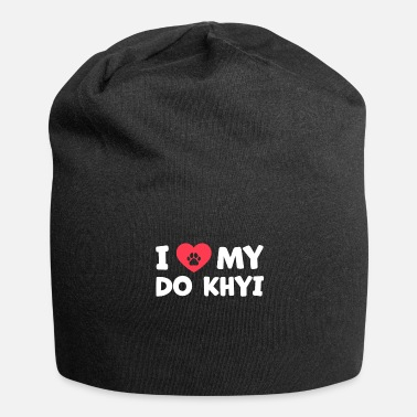 Tibet I love my Do Khyi Tibetan dog saying - Beanie