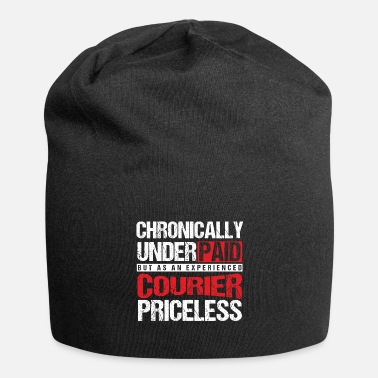 Courier Chronically Underpaid Courier Couriers Carrier - Beanie