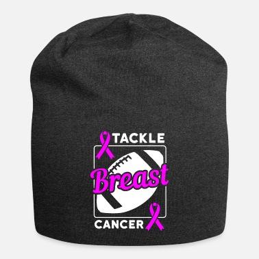 Lanyard Tackle Breast Cancer Football Breast Cancer - Beanie